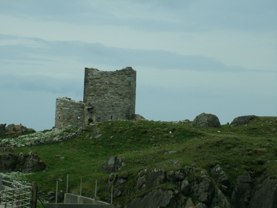 Carickabreaghy Castle, Isle of Doagh