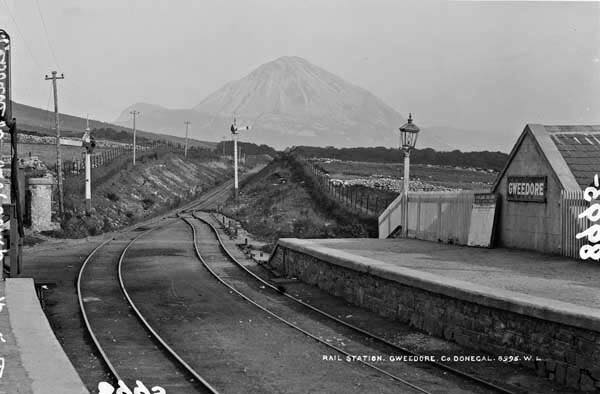 Gweedore train station,