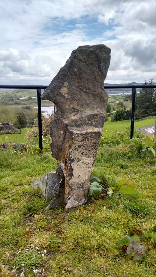 Boundry Stone at St. Colmcille's Abbey, Gartan.